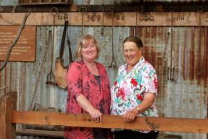 Liz Harfull and Jan Raleigh
